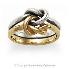 James Avery Original Lovers Knot ring