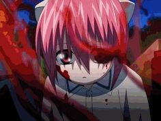 Elfen Lied: Young Blood Lucy - GIF
