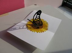3D Butterfly | 3d Butterfly Drawings In Pencil Drawing pencil - gum