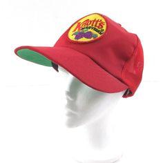 pretty nice 00754 0a218 Knotts Berry Farm Red Snapback Hat Vintage Mesh Trucker Cap Unisex  Adjustable  Unbranded  Trucker