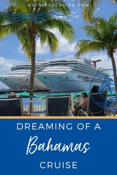 Sometimes you need to get away, but you may not have the time or cash for a vacation. That's why we give you our top reasons to take a short Bahamas Cruise. Bahamas Vacation, Bahamas Cruise, Cruise Port, Cruise Vacation, Cruise Excursions, Cruise Destinations, Cruise Ship Reviews, Packing List For Cruise