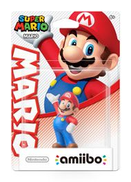 Boxshot: Mario Super Mario amiibo Figure by Nintendo