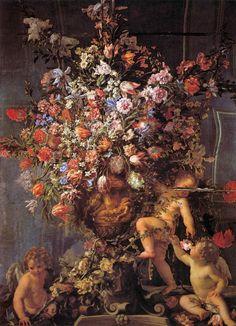 """Итальянский художник Mario Nuzzi (1603-1673), прозванный """"Mario de' Fiori"""" (Цветочный).. Обсуждение на LiveInternet - Российский Сервис Онлайн-Дневников"""