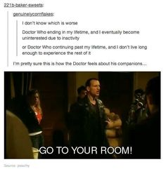 Dr who tumblr go to your room