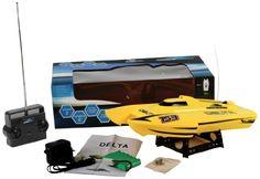Lancha RC catamarán Delta Yellow RC Speed Cat ⋆ Etoytronic⚡️