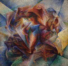 Umberto Boccioni,Dinamismo di un calcaitore,1913, Museum of Modern Art, New York.