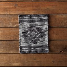 Aztec Dishcloth Free Pattern from Knit Picks
