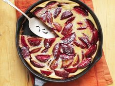 Französischer Pflaumenkuchen - smarter - Kalorien: 143 Kcal - Zeit: 20 Min…