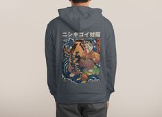 Check out the design The Cat and the Koi by roni saptoni on Threadless
