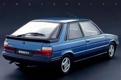Renault 11Turbo. Recall my parents having one of these with puddles in the rear passenger foot wells. Still a great car.