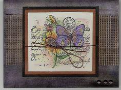 pearl ex garden using Stampin Up Garden Collage