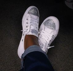Bling Converse Shoreline with Swarovski by PureLuxuryCustoms