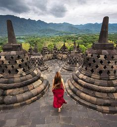 An iconic place in Central Java, Borobudur Temple, Photo by: IG Yogyakarta, Travel Pictures, Travel Photos, Earth City, Borobudur Temple, Buddhist Temple, Bali Travel, Insta Photo, Travel Style