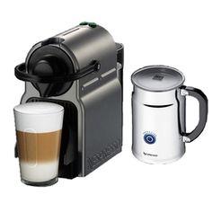Nespresso A C40-US-TI-NE Inissia Espresso Maker with Aeroccino Plus Milk Frother