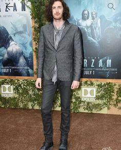 Hozier at Tarzan premier