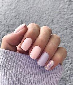 Best Nail Polish Colors of 2020 for a Trendy Manicure Two Color Nails, Nail Polish Colors, Pink Polish, Cute Nail Art Designs, Short Nail Designs, Diamond Nail Designs, Fall Nail Art, Nagel Gel, Super Nails