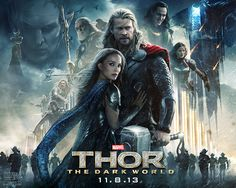 Thor 2 The Dark World - OMC Review -   We upped our game this week for 'Bunk Off Work & Go To The Cinema' and went to a 3D film! Like most who come to this site I remember 3D films being awful, with stuff flying at the screen to make sure you know its 3D and everything was red and blue. But now, blimey, tis all mad... - http://oldmancorner.co.uk/blog/films/thor-2-the-dark-world-omc-review/