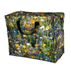 Flower Meadow Funky Laundry Bag