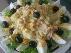 Salade de pomme de terre et au thon