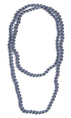 Peacock Pearl Necklace   $24   jewelboxonline.com