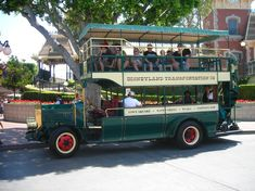 Rock a new kind of wedding transportation with a double decker bus!