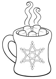 Pictures Hot Chocolate Cocoa Coloring Pages - Cocoa Day Coloring Pages : KidsDrawing – Free Coloring Pages Online Shark Coloring Pages, Abstract Coloring Pages, Fish Coloring Page, Flag Coloring Pages, Flower Coloring Pages, Christmas Coloring Pages, Coloring Pages For Kids, Coloring Sheets, Mandala Coloring