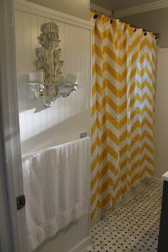 Ugh.... $80 for a shower curtain is a bit high! But I want this!!! I wish I knew how to sew!