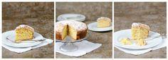 Gâteau moelleux et croustillant aux poires et aux amandes
