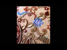 "Irish lace Уроки вяз крючком ирландского кружева. 4й Урок Вяжем жакет""Какао"" 3я часть- композиция - YouTube"
