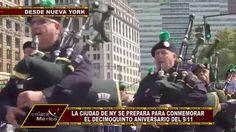 LA CIUDAD DE NUEVA YORK SE PREPARA PARA CONMEMORAR 15 AÑOS DEL 9/11