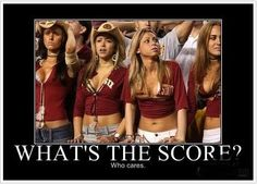 What's the score ladies!!??.. It's uh, something to something...#women #football