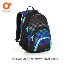 d6023d46ce722 Plecak Topgal dla uczniów od 6-8 klasy, do szkoły średniej lub na studia.