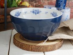 NATIONAL TRUST Country Kitchen LARGE Stoneware MIXING BOWL