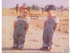 I remember this from when I was little, it was an add for Farm Bureau Insurance.