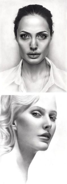 Amazing Pencil Portraits by Sarkis Sakissian