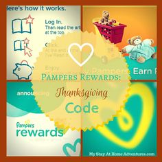 Pampers rewards codes 30 free points just found these three pampers pampers rewards code free thanksgiving code this code expires 12022014 fandeluxe Choice Image