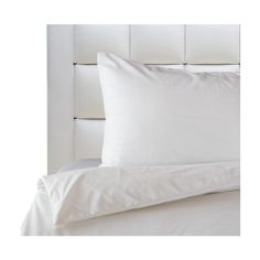Mezzo Pure Plain White Bedding Set