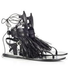 Gladiator Sandals For Marios Schwab | Ancient Greek Sandals | Avenue32