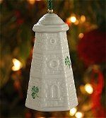 On my want list of Belleek items...Wicklow Head Lighthouse