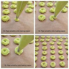 Pandan Butter Cookies - BAKE WITH PAWS