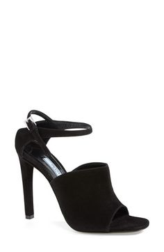 Prada Ankle Strap Suede Sandal (Women) available at #Nordstrom