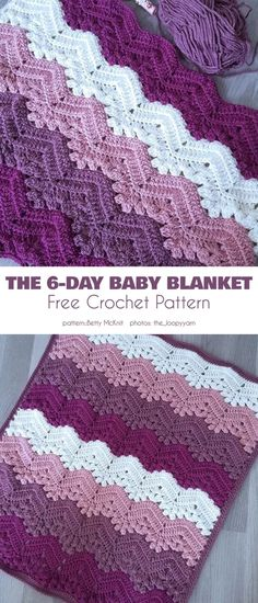Easy textured baby blanket free crochet patterns make a striped baby blanket this would make a great gift for a boy or girl crochet baby blanket patterns a more crafty life crochet crochetpattern baby diy Poncho Crochet, Crochet Baby Blanket Free Pattern, Crochet Motifs, Crochet Stitches, Crochet Afghans, Booties Crochet, Ripple Crochet Patterns, Baby Afghans, Crochet Blanket Edging