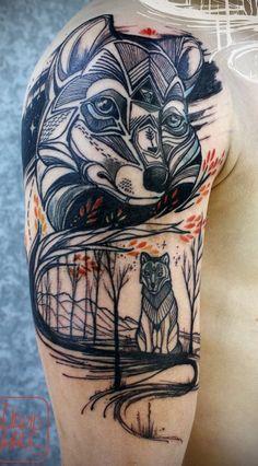 Fox arm tattoo - 60 Awesome Arm Tattoo Designs  <3 <3
