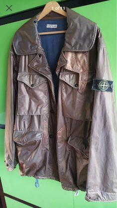 Football Casuals, Stone Island, Military Jacket, Jackets, Fashion, Stone Island Outlet, Down Jackets, Moda, Military Vest