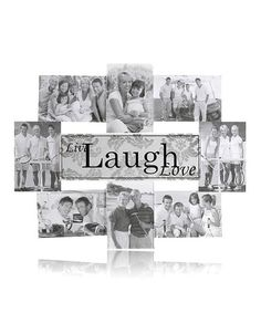 Take a look at this Black & White 'Laugh' Frame & Wall Art Set by Elements by Lifetime Brands on #zulily today!