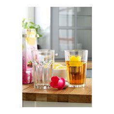VÅGRÄT Filtro para infusiones IKEA Un divertido filtro para infusiones que flota en el agua de la taza.
