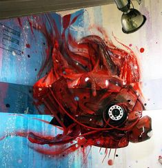 "Street Art - ""Artist Artur Bordalo's (aka Bordalo II) Turns Junk Into Animals To Remind Us About Pollution"""
