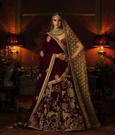 Sabyasachi #winter #Couture2016 #velvet