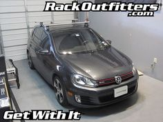 Rack Outfitters - Volkswagen GTI Thule Rapid Traverse AeroBlade Base Roof Rack, $381.85 (http://www.rackoutfitters.com/volkswagen-gti-thule-rapid-traverse-aeroblade-base-roof-rack/)