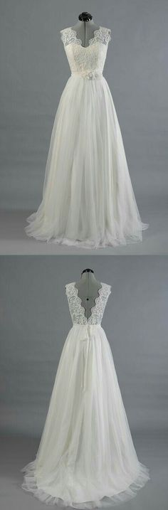 'Beautiful Wedding Gown' Uploaded by User. - Wendy Schultz - Wedding Dresses + Bouquets.